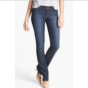 "PAIGE ""Skyline"" Straight leg Jeans sz 27"